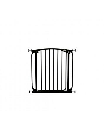ZOE AUTO-CLOSE PET SECURITY GATE- BLACK