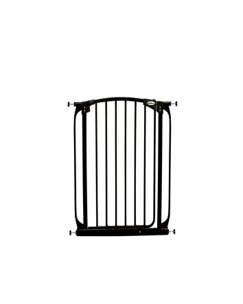 ZOE EXTRA-TALL AUTO CLOSE PET SECURITY GATE- BLACK