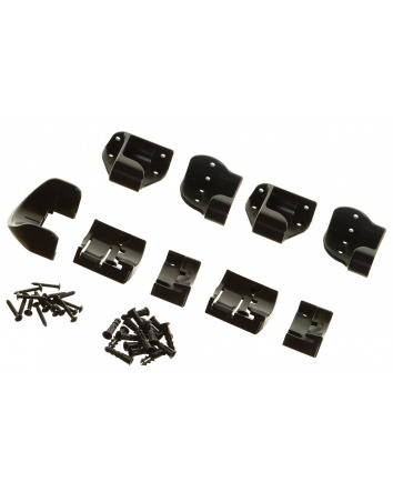 REPLACEMENT MOUNTING SET KIT FOR BLACK/GREY RETRACTABLE GATES