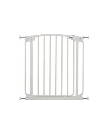 ZOE AUTO-CLOSE PET SECURITY GATE- WHITE